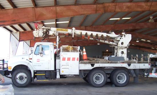 Digger Derrick Digger Derrick Truck Cargo Net