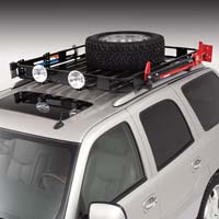 "Van Safari Rack, 5"" Stanchion"